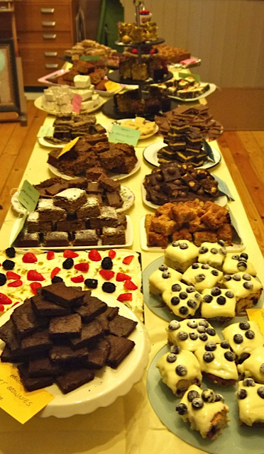 Towers of Terrific Tray bakes
