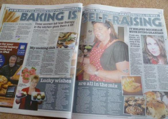 Edinburgh Cake Ladies in the Daily Record